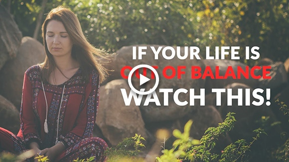 if your life is out of balance